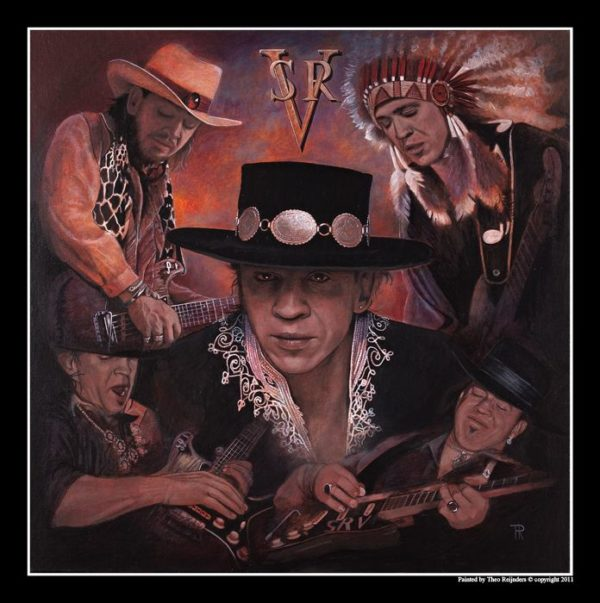 Collage Stevie Ray Vaughan